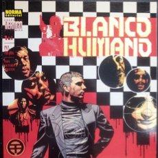 Cómics: BLANCO HUMANO COLECCIÓN COMPLETA DE 2 CÓMICS PETER MILLIGAN & EDVIN BIUKOVIC NORMA EDITORIAL. Lote 156960706