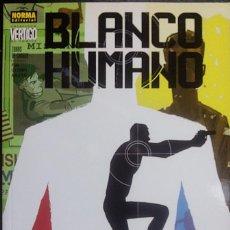 Cómics: BLANCO HUMANO : ZONAS DE CHOQUE DE PETER MOLLIGAN & JAVIER PULIDO DE NORMA EDITORIAL. Lote 156966538