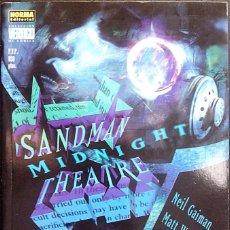 Cómics: SANDMAN MIDNIGHT THEATRE DE NEIL GAIMAN & MATT WAGNER & TEDDY KRISTIANSEN NORMA EDITORIAL. Lote 157212002