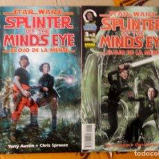 Cómics: STAR WARS. SPLINTER OF THE MIND'S EYE. EL OJO DE LA MENTE. NORMA. COLECCIÓN COMPLETA 2 NÚM. 1997. Lote 157362438