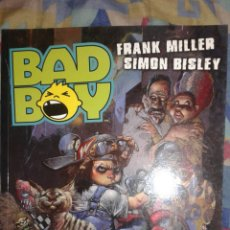 Cómics: BAD BOY: FRANK MILLER-SIMON BISLEY: NORMA EDITORIAL. Lote 157627306