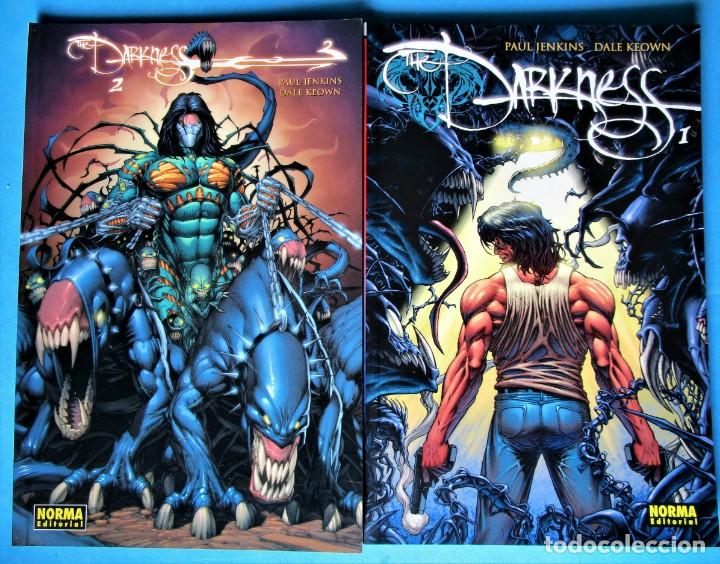THE DARKNESS Nº 1 Y 2 (PAUL JENKINS - DALE KEOWN) NORMA ''MUY BUEN ESTADO'' (VER 4 FOTOS) (Tebeos y Comics - Norma - Comic USA)