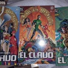 Cómics: JLA, EL CLAVO. VOLUMEN 1, 3 NÚMEROS. Lote 157930518