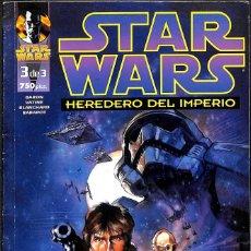Comics: STAR WARS HEREDERO DEL IMPERIO 3 DE 3. Lote 158471890