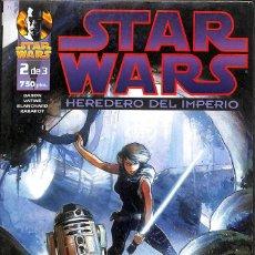 Comics: STAR WARS HEREDERO DEL IMPERIO 2 DE 3. Lote 158472078