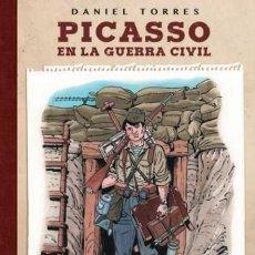 Cómics: PICASSO EN LA GUERRA CIVIL (DANIEL TORRES) NORMA - CARTONE - IMPECABLE - OFF15. Lote 158651854