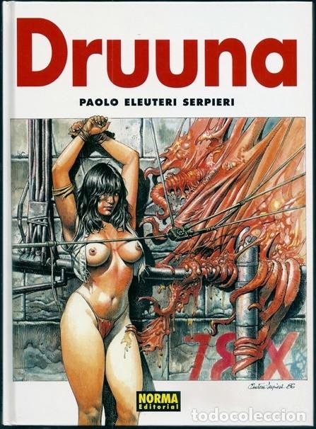 DRUUNA, 2: DRUUNA (PAOLO ELEUTERI SERPIERI) - NORMA EDITORIAL, 01/2003, 2ª EDICIÓN (Tebeos y Comics - Norma - Comic Europeo)
