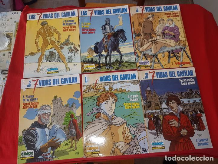COLECCION CASI COMPLETA. LAS 7 VIDAS DEL GAVILAN.. 6 NUMEROS DE 7. NORMA. C-32 (Tebeos y Comics - Norma - Comic Europeo)