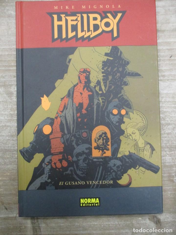 HELLBOY - EL GUSANO VENCEDOR - MIKE MIGNOLA - NORMA EDITORIAL (Tebeos y Comics - Norma - Comic USA)