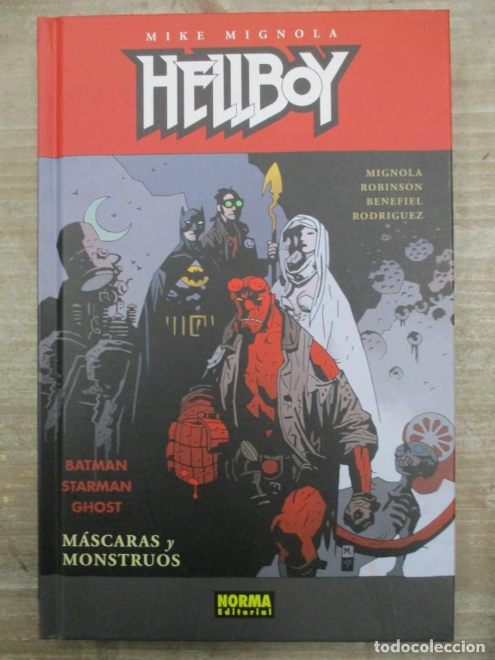 HELLBOY - MASCARAS Y MONSTRUOS - BATMAN - STARMAN - GHOST - MIKE MIGNOLA - NORMA EDITORIAL (Tebeos y Comics - Norma - Comic USA)