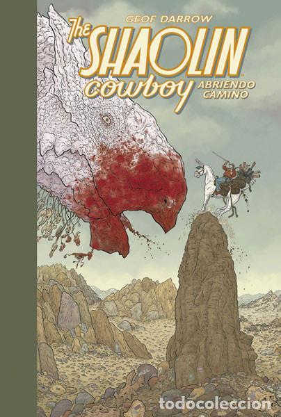 CÓMICS. THE SHAOLIN COWBOY 1. ABRIENDO CAMINO - GEOF DARROW/PETER DOHERTY (CARTONÉ) (Tebeos y Comics - Norma - Comic USA)