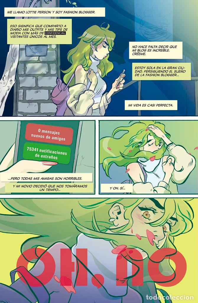 Cómics: Cómics. Snotgirl 1. A PELOVERDE LE DA IGUAL - Leslie Hung/Bryan Lee O'Malley - Foto 5 - 159697266