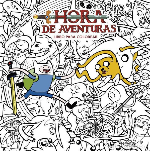 CÓMICS. HORA DE AVENTURAS- LIBRO PARA COLOREAR - VARIOS AUTORES (Tebeos y Comics - Norma - Comic USA)