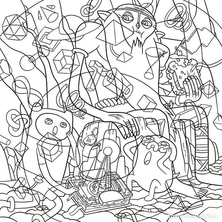 Cómics: Cómics. HORA DE AVENTURAS- LIBRO PARA COLOREAR - Varios autores - Foto 4 - 159698794
