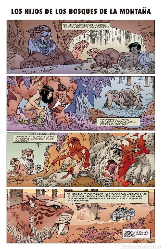 Cómics: Cómics. LA ESPADA DE LAS ERAS 1. AVALÓN - Gabriel Rodriguez/Kindzierski (Cartoné) - Foto 5 - 159699314