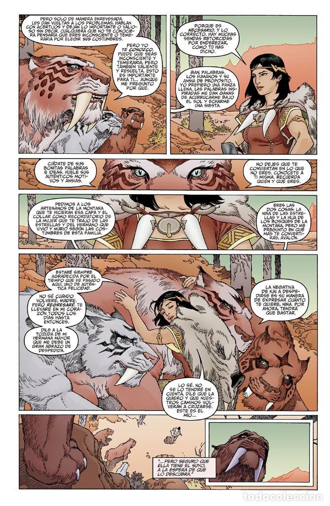 Cómics: Cómics. LA ESPADA DE LAS ERAS 1. AVALÓN - Gabriel Rodriguez/Kindzierski (Cartoné) - Foto 6 - 159699314