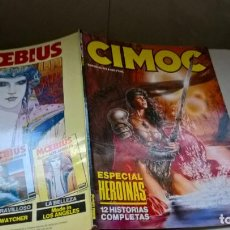 Fumetti: COMICS: CIMOC Nº 9. ESPECIAL HEROINAS (ABLN). Lote 160239506