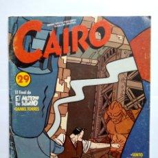 Cómics: CAIRO 29. Lote 160241081