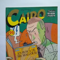Cómics: CAIRO 22. Lote 160241705