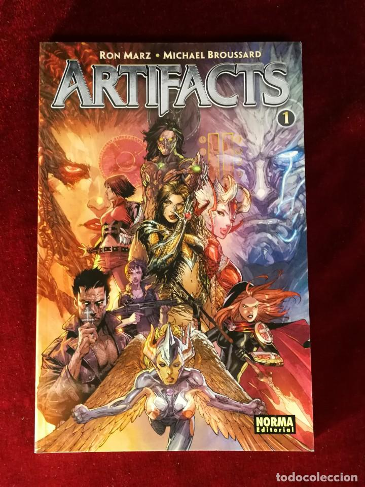 TOP COW NORMA - ARTIFACTS 1 (Tebeos y Comics - Norma - Comic USA)