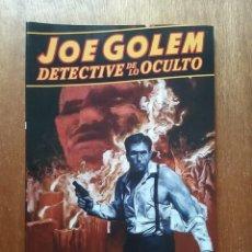 Cómics: JOE GOLEM DETECTIVE DE LO OCULTO 1, EL CAZADOR DE RATAS Y LOS MUERTOS SUMERGIDOS, NORMA EDITORIAL. Lote 160314138