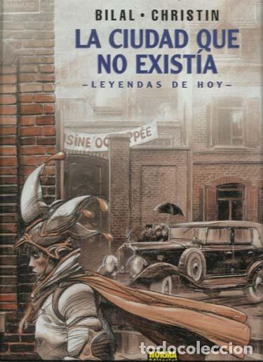 LA CIUDAD QUE NO EXISTÍA, 2003, NORMA, PRIMERA EDICIÓN, IMPECABLE (Tebeos y Comics - Norma - Comic Europeo)