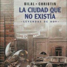 Cómics: LA CIUDAD QUE NO EXISTÍA, 2003, NORMA, PRIMERA EDICIÓN, IMPECABLE. Lote 160342366
