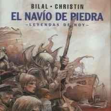 Cómics: EL NAVÍO DE PIEDRA, 2003, NORMA, PRIMERA EDICIÓN, IMPECABLE. Lote 160342686