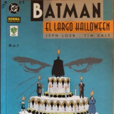 Cómics: COMIC N°6/7 BATMAN EL LARGO HALLOWEEN 1997. Lote 160679045