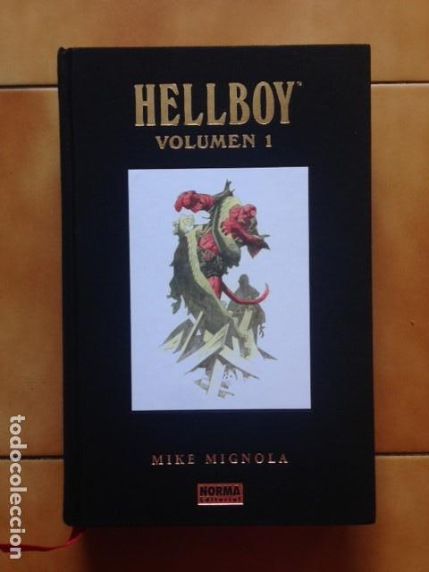 HELLBOY EDICIÓN INTEGRAL DE LUJO VOL. 1 - MIKE MIGNOLA - JOHN BYRNE - NORMA EDITORIAL (Tebeos y Comics - Norma - Comic USA)