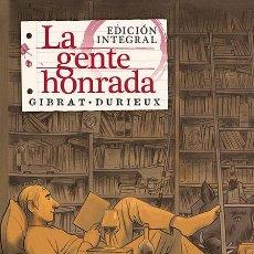 Cómics: CÓMICS. LA GENTE HONRADA. INTEGRAL - JEAN-PIERRE GIBRAT/DURIEUX (CARTONÉ). Lote 161525598