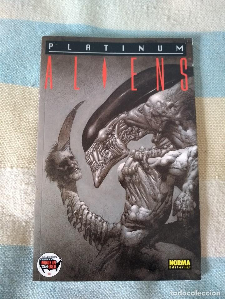 ALIENS PLATINUM - TONY AKINS / JOHN ARCUDI / SIMON BISLEY (Tebeos y Comics - Norma - Comic USA)