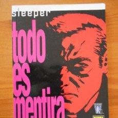 Comics - SLEEPER - Nº 2 - TODO ES MENTIRA - ED BRUBAKER - NORMA EDITORIAL (GA) - 161563590