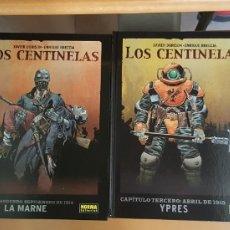 Cómics: LOS CENTINELAS - DORISON BRECCIA - COMPLETA 4 TOMOS TAPA DURA NORMA. Lote 161580784