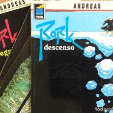 Cómics: RORK-LOTE 4 TOMOS (1,2,4,5) COLECCIÓN PANDORA- NORMA EDITORIAL 1991. Lote 161631782