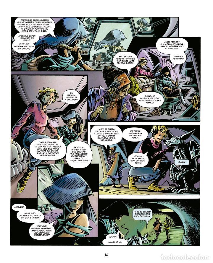 Cómics: Cómics. LA BALADA DE HALO JONES - Alan Moore/IAN GIBSON/BARBARA NOSENZO (Cartoné) - Foto 2 - 161655242