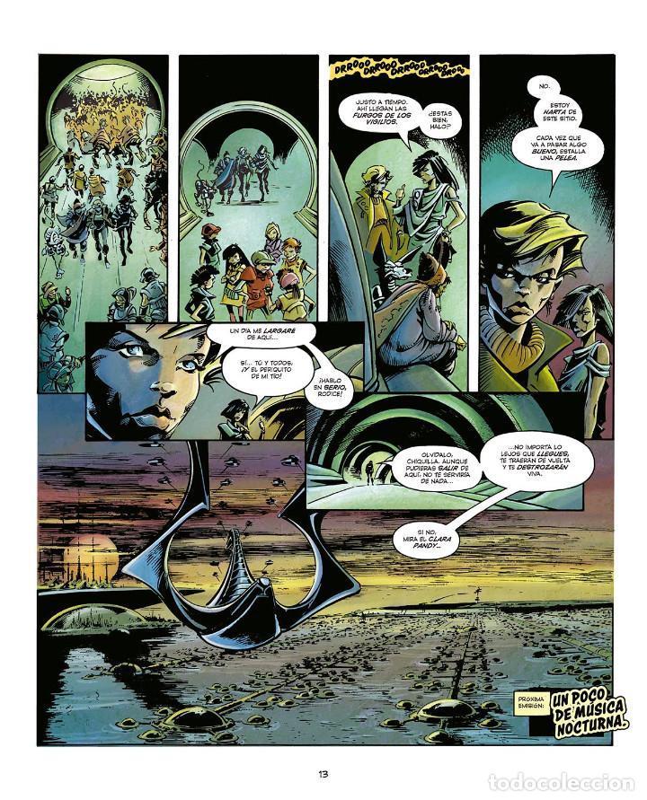 Cómics: Cómics. LA BALADA DE HALO JONES - Alan Moore/IAN GIBSON/BARBARA NOSENZO (Cartoné) - Foto 5 - 161655242