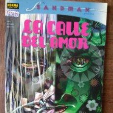 Cómics: THE SANDMAN, LA CALLE DEL AMOR- NORMA EDITORIAL VERTIGO. Lote 161746902