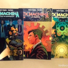 Cómics: EX MACHINA. ESTADO DE EMERGENCIA. TOMO 1. 2. 3. BRIAN K. VAUGHAN Y TONY HARRIS. NORMA EDITORIAL. Lote 161964202