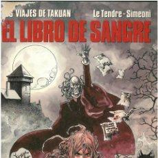 Cómics: CIMOC EXTRA COLOR Nº 88 .LOS VIAJES DE TAKUAN. EL LIBRO DE SANGRE. C-34. Lote 162115362