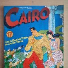 Cómics: COMIC CAIRO 17 - NORMA EDITORIAL. Lote 162192705