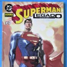 Cómics: SUPERMAN LEGADO Nº 3 - DC NORMA 2004 (VER FOTOS). Lote 162637466