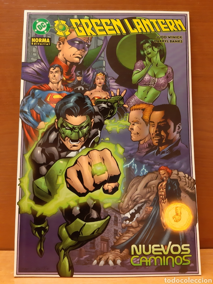 GREEN LANTERN COMPLETA 3 EJEMPLARES NUEVOS CAMINOS, MIENTRAS ROMA ARDE Y LEJOS DE CASA (Tebeos y Comics - Norma - Comic USA)