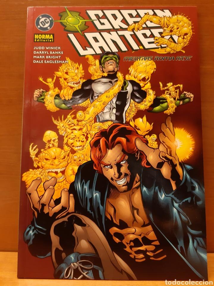 Cómics: Green Lantern completa 3 ejemplares Nuevos caminos, Mientras Roma arde y Lejos de casa - Foto 2 - 162944878
