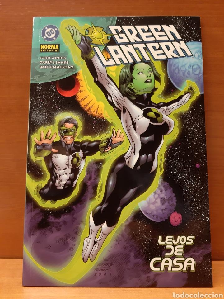 Cómics: Green Lantern completa 3 ejemplares Nuevos caminos, Mientras Roma arde y Lejos de casa - Foto 3 - 162944878