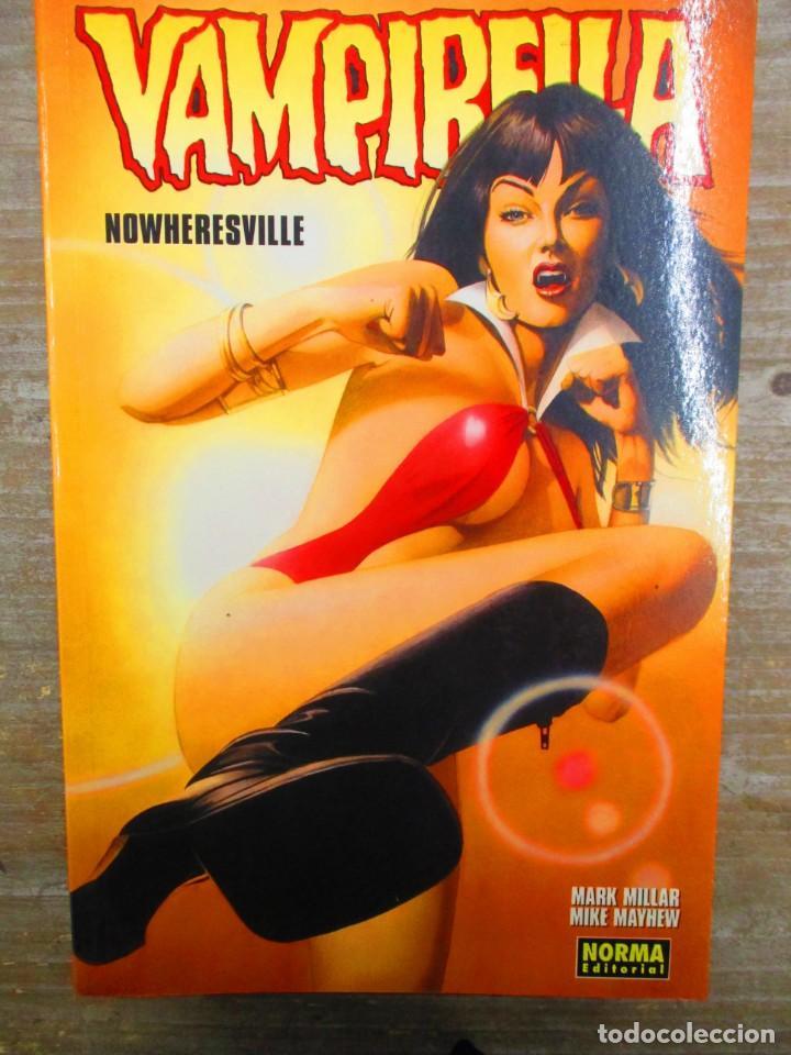 VAMPIRELLA . NOWHERESVILLE . NORMA EDITORIAL (Tebeos y Comics - Norma - Comic USA)