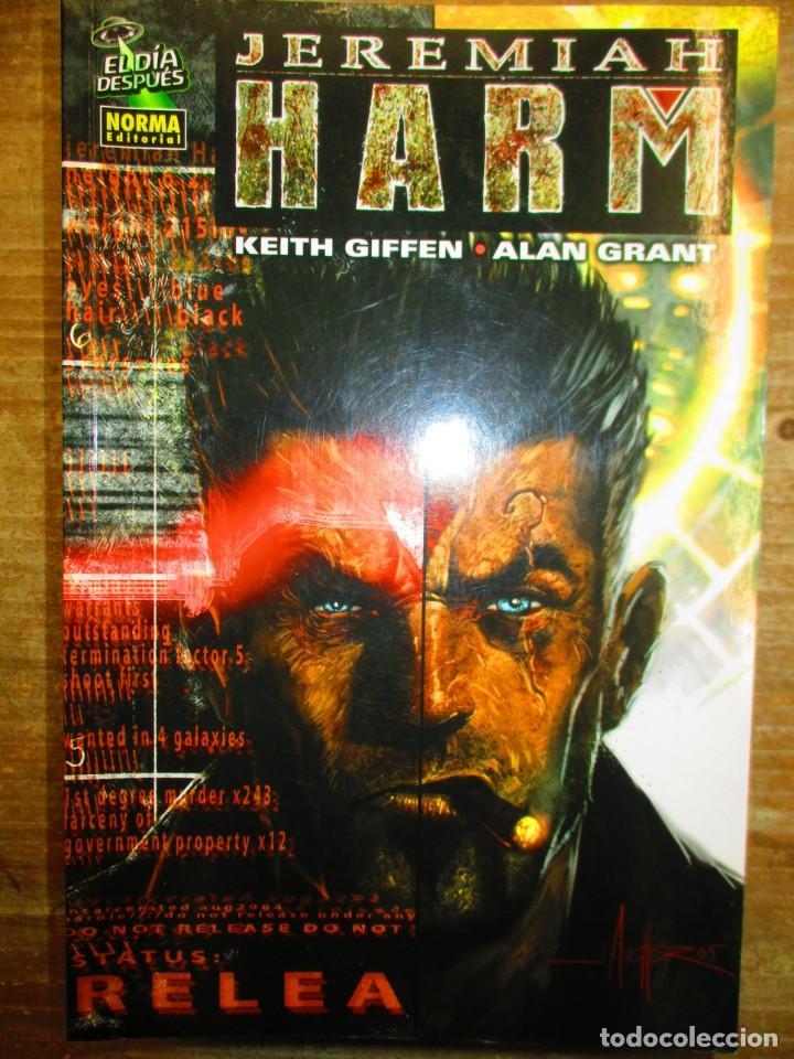 JEREMIAH HARM - KEITH GIFFEN / ALAN GRANT - NORMA EDITORIAL - EL DIA DESPUES (Tebeos y Comics - Norma - Comic USA)