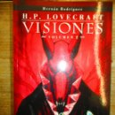 Cómics: H.P. LOVECRAFT - VISIONES 2 - HERNAN RODRIGUEZ - NORMA EDITORIAL -MADE IN HELL . Lote 162951682