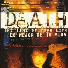 Cómics: COLECCIÓN VERTIGO MUERTE: LO MEJOR DE TU VIDA NORMA EDITORIAL. Lote 163029794