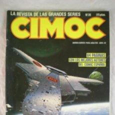 Cómics: CIMOC Nº26 - ABRIL 1983. Lote 163035530